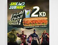 Subway kuwait -  AVENGERS Campaign Ramdan 2015