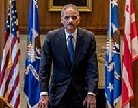 Fmr. Att. Gen. Eric Holder for the Advocate Magazine