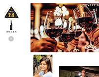 Station 24 Wines Website