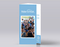 Make-A-Wish / Proposta de folheto (Natal)