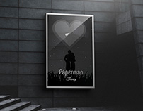 """Paperman"" Poster Design Concept"