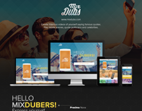 Website ReDesign | MixDubs