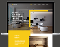 Interior Architecture Web Design