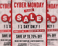 Cyber Monday Flash Sale - Community A5 Flyer/Poster