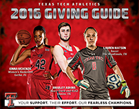Texas Tech University Athletics - 2016 Giving Guide