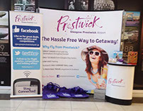 Glasgow Prestwick Airport Billboard & Exhibition Stands
