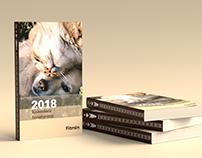 Fitmin calendar design & print