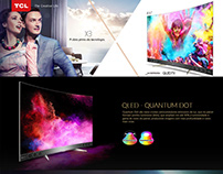 Landing pages de Smart TV's TCL