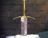 The Sword in Stone (Tribute Art)
