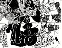 Crocodile Tears, Oakland Twenty Three (drawings)