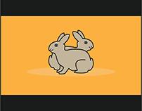 Bunny logo - Rabbit