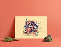 Hope Floral Poster