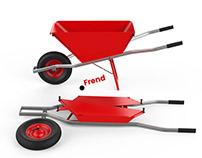 Frend – Foldable Wheelbarrow