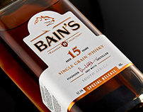 Bains 15 Year Old Whisky