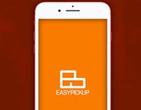 EasyPickup App UI Design