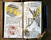 Sketch journal #1