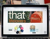 Thatbag . Nueva Web