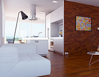 Living room concept & visualizations