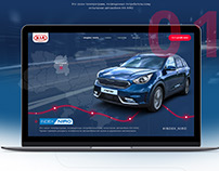 Kia Niro Promo website