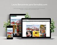 Diseño web para farmacia.com
