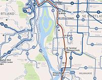 TriMet System Maps