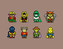 JSA Pixel Illustration