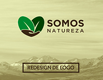 Redesign de Logo - Somos Natureza