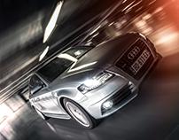 Audi A4 - Camera rig