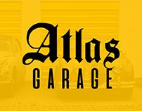 Atlas Garaj Logo çalışmamız