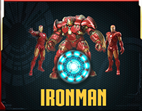 Ironman PowerPoint Template