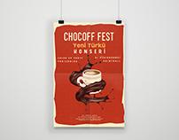 Intelligent Organizasyon - Chocoffest - Poster Design