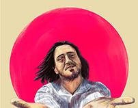 John Frusciante - Digital painting
