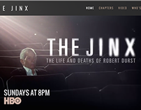 HBO's The Jinx Site Design