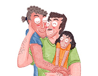 Illustrations for Gaysi Family
