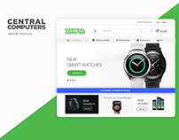 Central Computers Web Redesign
