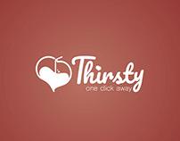 Thirsty Online Dating - Branding