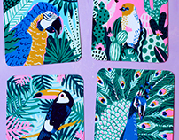 Tropical Birds for Nucleus Portland