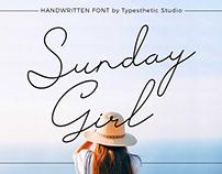 Free Sunday Girl Script Font