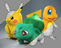 Pokémon - Character modeling