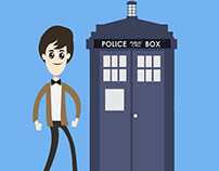 Doctor Who Harlem Shake - Animated