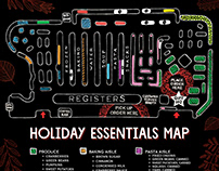Holiday Product Map for Whole Foods Market