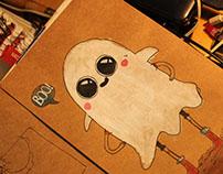 Fantasia de Halloween (ilustração)