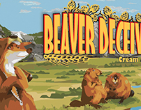 Beer Label - Beaver Deceiver—Bron Yr Aur Brewing Co.
