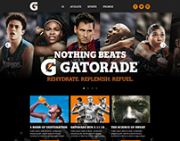 Gatorade Website