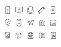 Ola Money Icons