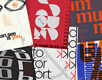 Typography Posters Vol 1 | One Day One Type