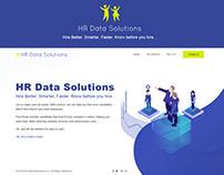 Hr Data Solutions Website UI