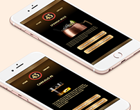 Licor 43 – UI Design