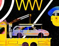 Illustrations for Autonews (part 4)