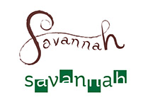 Multifaceted Savannah Wordmarks